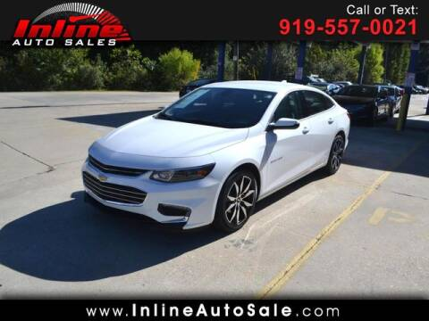 2018 Chevrolet Malibu for sale at Inline Auto Sales in Fuquay Varina NC