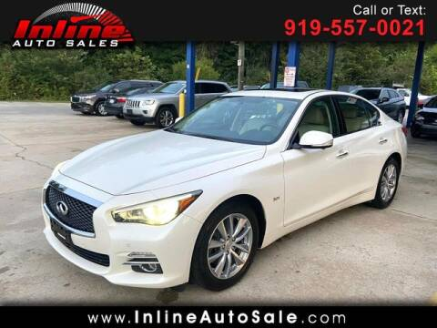 2017 Infiniti Q50 for sale at Inline Auto Sales in Fuquay Varina NC