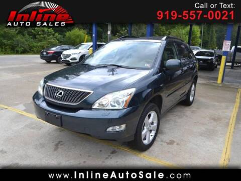 2004 Lexus RX 330 for sale at Inline Auto Sales in Fuquay Varina NC