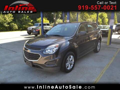 2016 Chevrolet Equinox for sale at Inline Auto Sales in Fuquay Varina NC