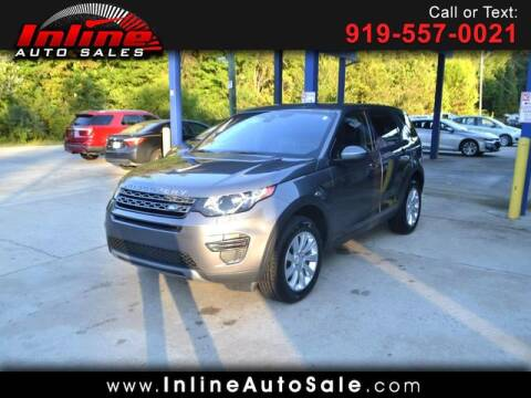 2017 Land Rover Discovery Sport for sale at Inline Auto Sales in Fuquay Varina NC