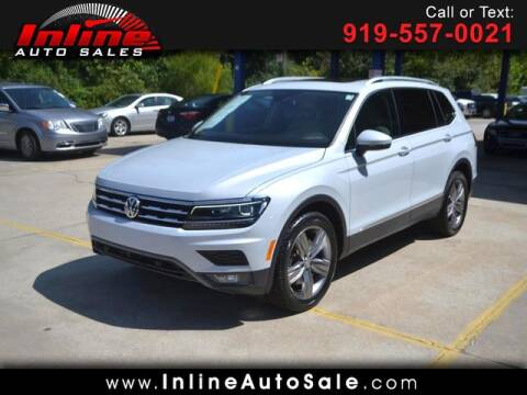 2018 Volkswagen Tiguan for sale at Inline Auto Sales in Fuquay Varina NC