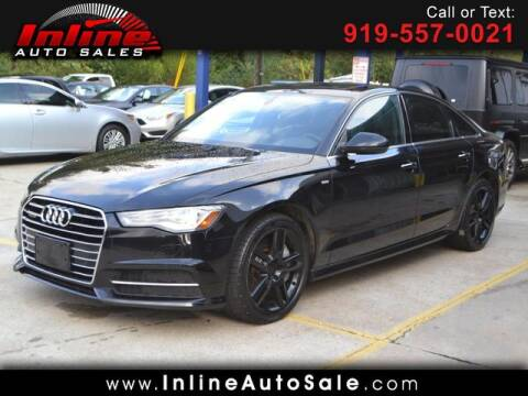 2016 Audi A6 for sale at Inline Auto Sales in Fuquay Varina NC