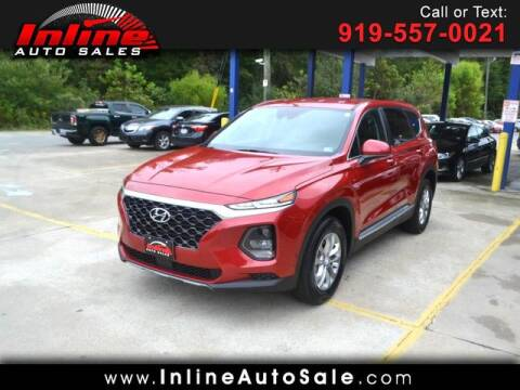 2019 Hyundai Santa Fe for sale at Inline Auto Sales in Fuquay Varina NC