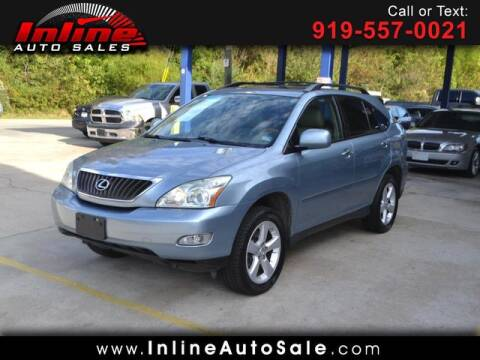 2008 Lexus RX 350 for sale at Inline Auto Sales in Fuquay Varina NC