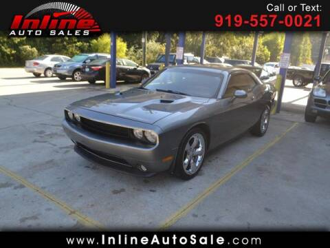 2012 Dodge Challenger for sale at Inline Auto Sales in Fuquay Varina NC