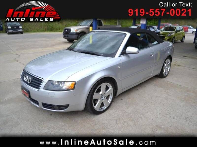 2006 Audi A4 for sale at Inline Auto Sales in Fuquay Varina NC