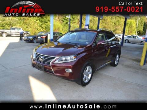 2013 Lexus RX 350 for sale at Inline Auto Sales in Fuquay Varina NC