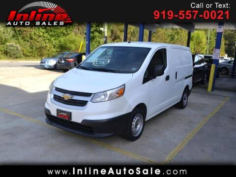 2015 Chevrolet City Express Cargo for sale at Inline Auto Sales in Fuquay Varina NC