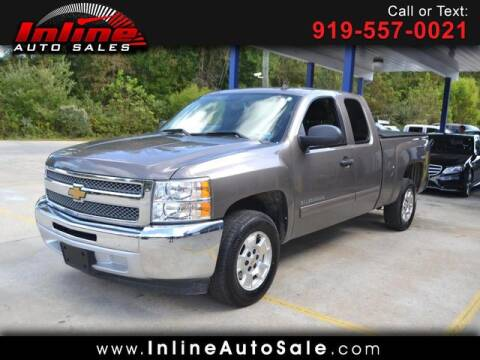2013 Chevrolet Silverado 1500 for sale at Inline Auto Sales in Fuquay Varina NC