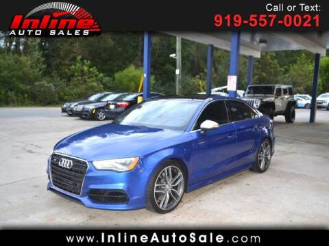 2015 Audi S3 for sale at Inline Auto Sales in Fuquay Varina NC