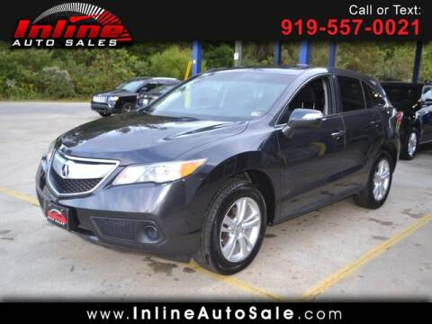 2015 Acura RDX for sale at Inline Auto Sales in Fuquay Varina NC