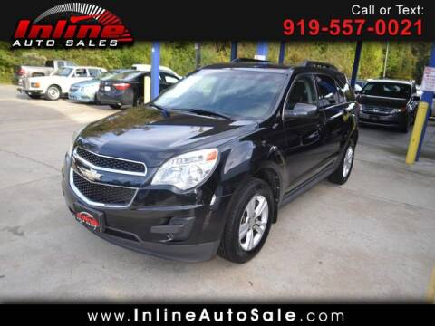 2011 Chevrolet Equinox for sale at Inline Auto Sales in Fuquay Varina NC