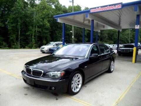 2006 BMW 7 Series for sale at Inline Auto Sales in Fuquay Varina NC