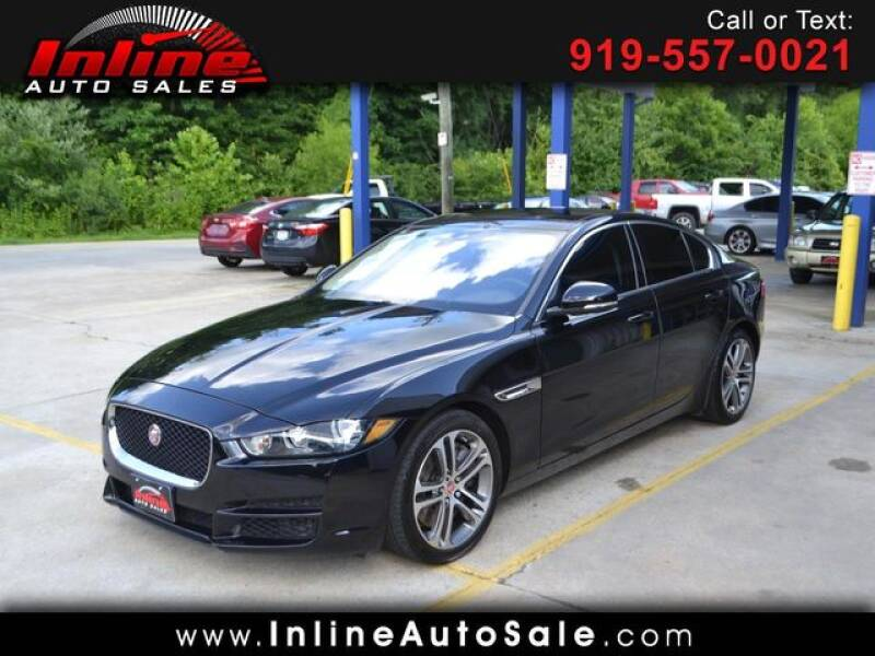 2017 Jaguar XE for sale at Inline Auto Sales in Fuquay Varina NC
