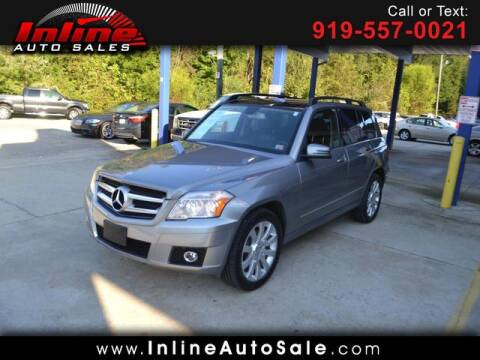 2011 Mercedes-Benz GLK for sale at Inline Auto Sales in Fuquay Varina NC