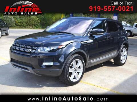 2012 Land Rover Range Rover Evoque for sale at Inline Auto Sales in Fuquay Varina NC