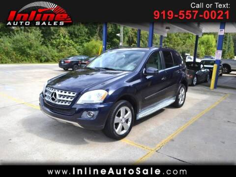 2011 Mercedes-Benz M-Class for sale at Inline Auto Sales in Fuquay Varina NC