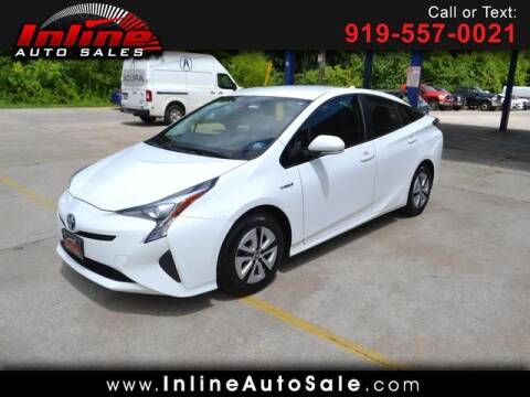 2016 Toyota Prius for sale at Inline Auto Sales in Fuquay Varina NC
