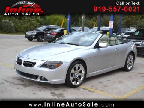 2004 BMW 6 Series for sale at Inline Auto Sales in Fuquay Varina NC