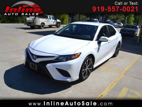 2020 Toyota Camry for sale at Inline Auto Sales in Fuquay Varina NC