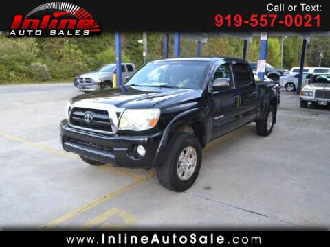 2007 Toyota Tacoma for sale at Inline Auto Sales in Fuquay Varina NC