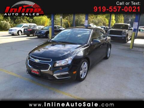 2015 Chevrolet Cruze for sale at Inline Auto Sales in Fuquay Varina NC