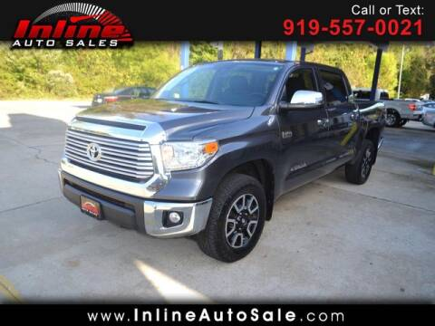 2017 Toyota Tundra for sale at Inline Auto Sales in Fuquay Varina NC
