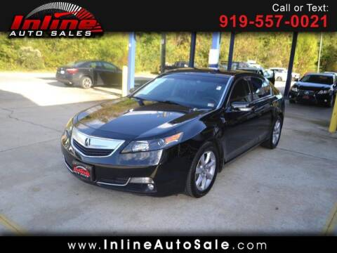 2014 Acura TL for sale at Inline Auto Sales in Fuquay Varina NC