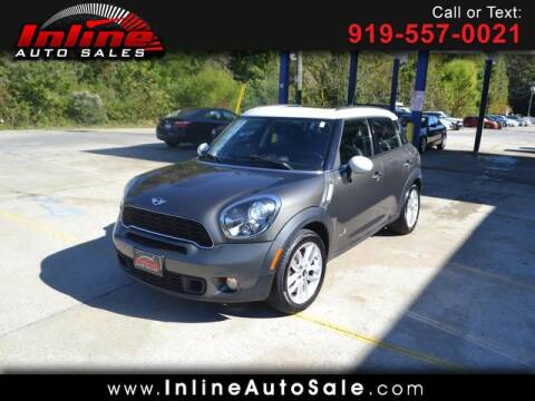 2013 MINI Countryman for sale at Inline Auto Sales in Fuquay Varina NC