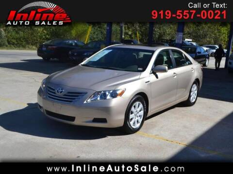 2009 Toyota Camry Hybrid for sale at Inline Auto Sales in Fuquay Varina NC