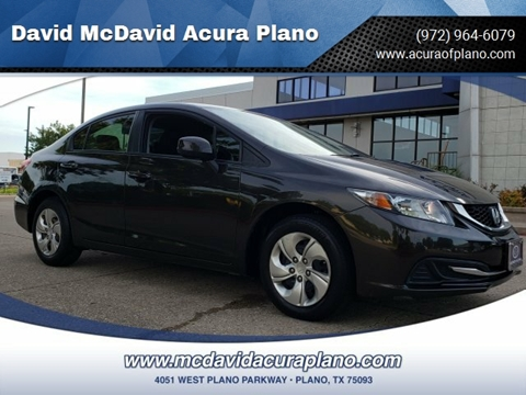 2013 Honda Civic for sale in Plano, TX