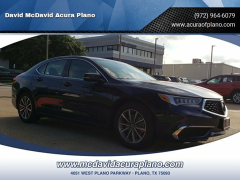 2020 Acura TLX for sale in Plano, TX