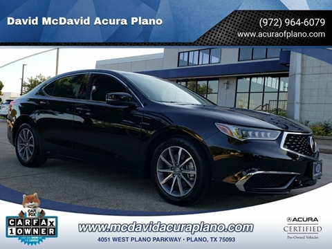 2018 Acura TLX for sale in Plano, TX