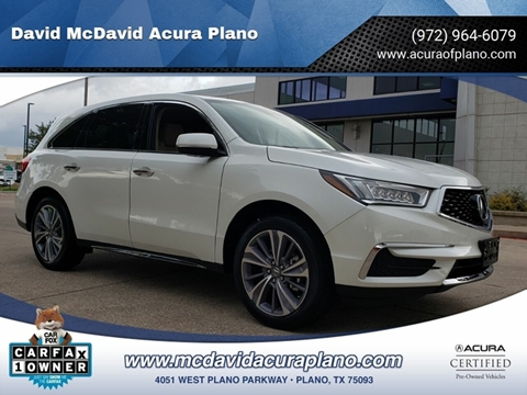 2018 Acura RDX for sale in Plano, TX