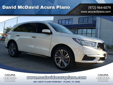 2017 Acura MDX for sale in Plano, TX