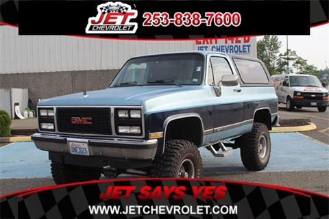1990 GMC Jimmy for sale in Federal Way, WA