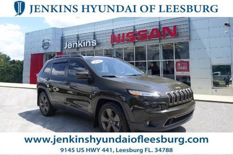 2016 Jeep Cherokee for sale in Leesburg, FL