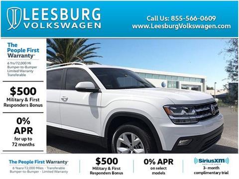 2019 Volkswagen Atlas for sale in Leesburg, FL