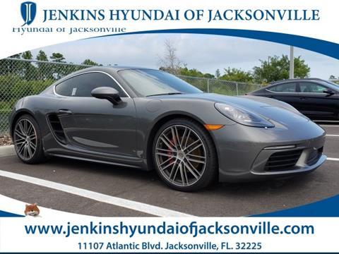 2017 Porsche 718 Cayman for sale in Jacksonville, FL