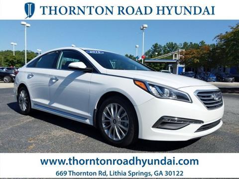 2015 Hyundai Sonata for sale in Lithia Springs, GA