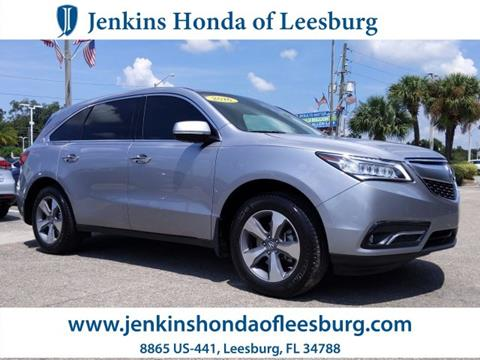 2016 Acura MDX for sale in Leesburg, FL