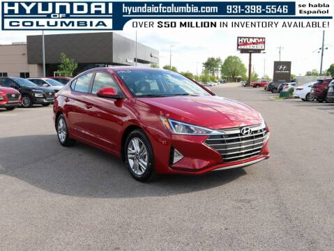 2020 Hyundai Elantra for sale at Hyundai of Columbia Con Alvaro in Columbia TN
