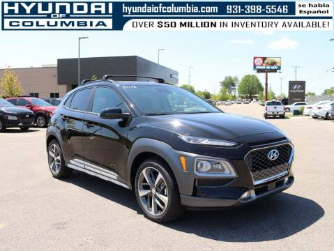 2020 Hyundai Kona for sale at Hyundai of Columbia Con Alvaro in Columbia TN