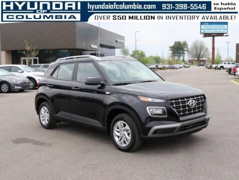 2020 Hyundai Venue for sale at Hyundai of Columbia Con Alvaro in Columbia TN
