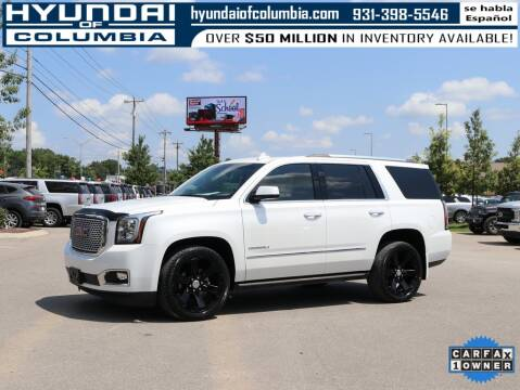 2017 GMC Yukon for sale at Hyundai of Columbia Con Alvaro in Columbia TN