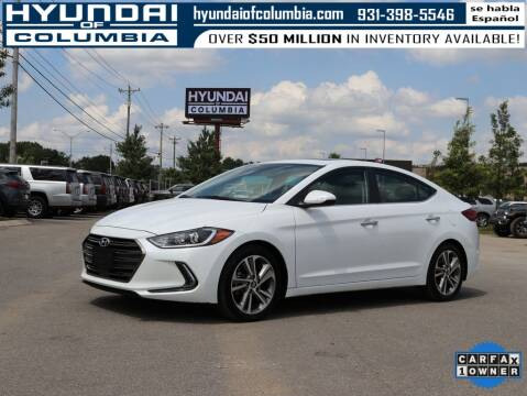 2017 Hyundai Elantra for sale at Hyundai of Columbia Con Alvaro in Columbia TN