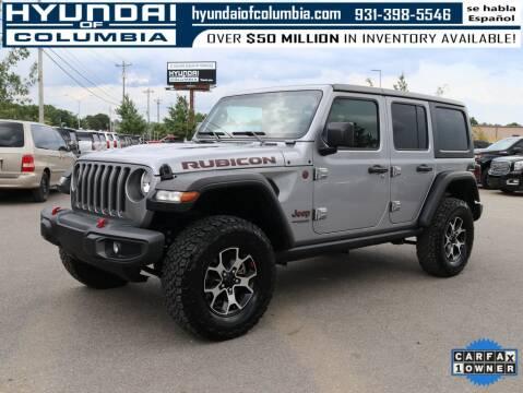 2020 Jeep Wrangler Unlimited for sale at Hyundai of Columbia Con Alvaro in Columbia TN