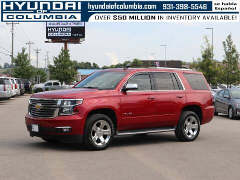 2015 Chevrolet Tahoe for sale at Hyundai of Columbia Con Alvaro in Columbia TN