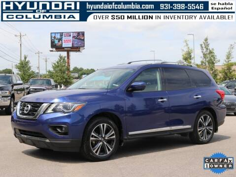 2017 Nissan Pathfinder for sale at Hyundai of Columbia Con Alvaro in Columbia TN